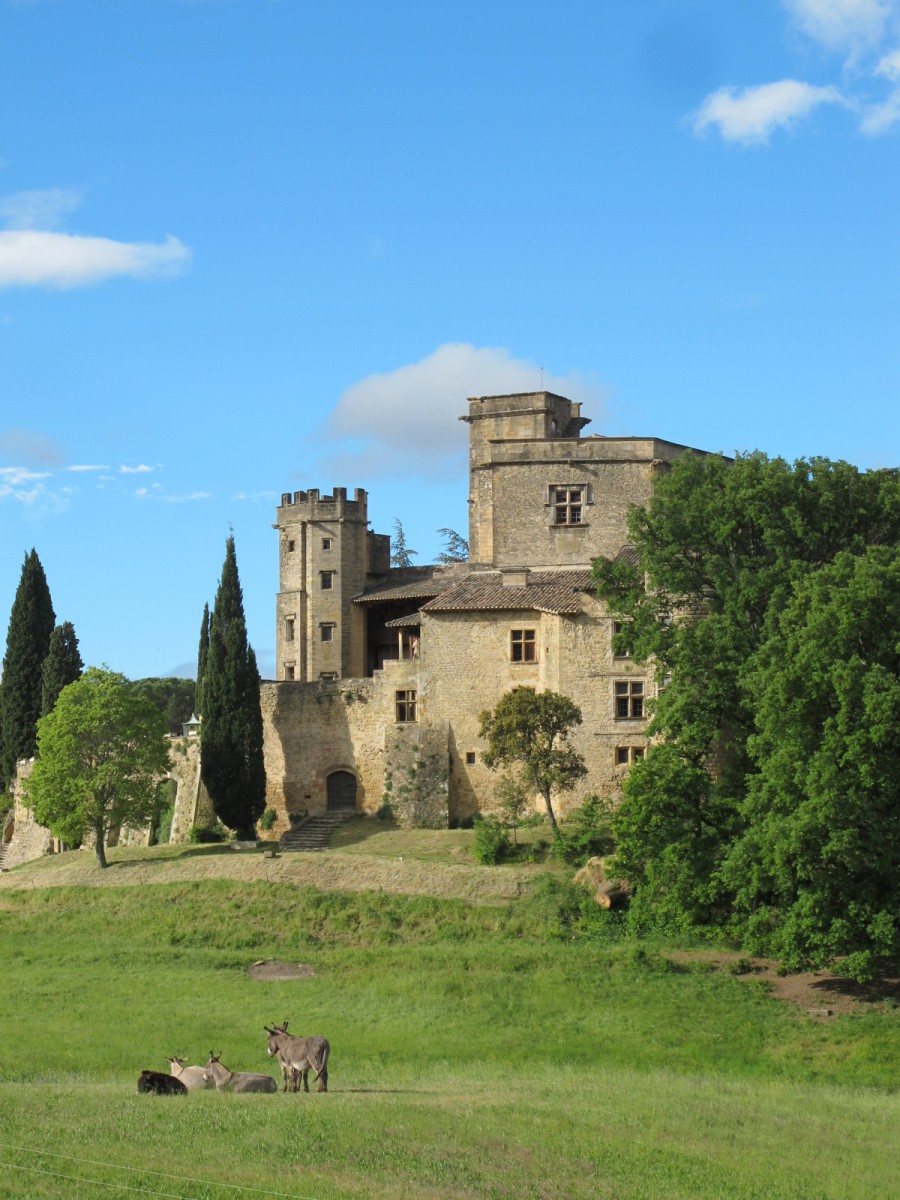 Castle in Luberon