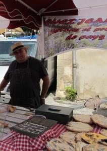 Produits locaux, marché en Provence